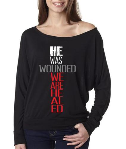 He was wounded tee