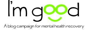 i'm good logo with slogan - print