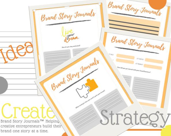 Brand Story Journals